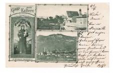 ANSICHTSKARTE KALTERN GRUSS AUS KALTERN CALDARO SÜDTIROL ALTO ADIGE GELAUFEN 1903