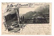 ANSICHTSKARTE EPPAN GRUSS AUS ÜBERETSCH ST. MICHAEL SÜDTIROL GELAUFEN 1901