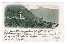 ANSICHTSKARTE MARLING GRUSS AUS MARLING SÜDTIROL ALTO ADIGE GELAUFEN 1898