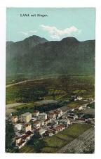 ANSICHTSKARTE LANA MIT IFINGER SÜDTIROL ALTO ADIGE GELAUFEN 1910