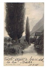 ANSICHTSKARTE MAGREID MAGRE SÜDTIROL ALTO ADIGE GELAUFEN 1905