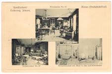 ANSICHTSKARTE MERAN FAMILIENHOTEL ERZHERZOG JOHANN ALTO ADIGE GELAUFEN 1914