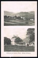 ANSICHTSKARTE FELDTURN VELTHURNS BEI KLAUSEN SÜDTIROL 1909