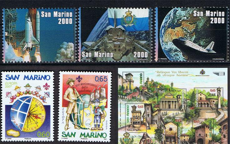 Francobolli San Marino