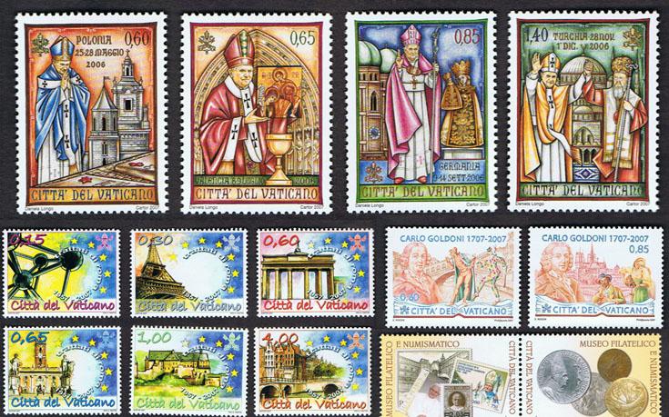 Francobolli Vaticano